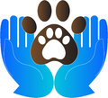 Pet care a vector drawing represents design Royalty Free Stock Photos