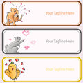 Pet s love banner for decoration artwork about or animal vector Stock Photos