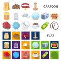 Pet shop cartoon icons in set collection for design.The goods for animals vector symbol stock web illustration.