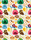 Pet tool seamless pattern Royalty Free Stock Photos