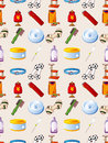 Pet tool seamless pattern Royalty Free Stock Images