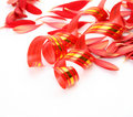 Petals and streamer Stock Photos