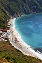 'Petani' beach at Kefalonia island Stock Photography