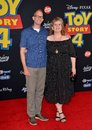 Pete Docter & Amanda Docter Royalty Free Stock Photo