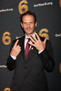 Peter Berg arrives at the Launch of Got Your 6 Royalty Free Stock Photo