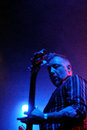Peter Hook (Joy Division) performs at Apolo Royalty Free Stock Images