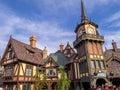 Peter Pan ride at Fantasyland in the Disneyland Park Royalty Free Stock Photo