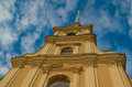 Peter and Paul cathedral fragment Royalty Free Stock Photo