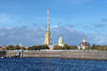 Peter and Paul Cathedral in Saint Petersburg Royalty Free Stock Photos