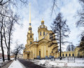 Peter and Paul Cathedral, St. Petersburg, Russia Stock Photos