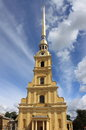 Peter and paul church in saint petersburg russia Royalty Free Stock Images