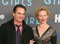 Peter Scolari and Becky Ann Baker Stock Image