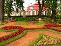 Peterhof сада Стоковое фото RF