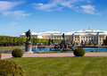 Peterhof Grand Palace in Russia Royalty Free Stock Image