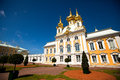 Peterhof Palace near St. Petersburg Royalty Free Stock Photos