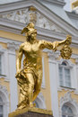 Peterhof. Perseus Royalty Free Stock Images