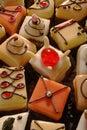 Petit ciastek fours Zdjęcia Royalty Free