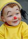 Petit clown heureux Photos libres de droits