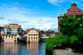 Petit France Strasbourg Royalty Free Stock Images