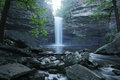 Petit jean state park cedar falls cedar creek Royalty Free Stock Photo