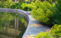 Petit palais garden with small pond Stock Photography