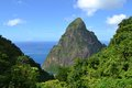 Petit Piton Royalty Free Stock Photo