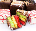 Petite Fours Royalty Free Stock Images
