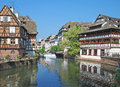 Petite france strasbourg alsace france old town of called Stock Photos