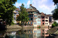 Petite France Strasbourg France, Alsace Royalty Free Stock Photo