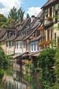 Petite Venice in Colmar, France Royalty Free Stock Photo