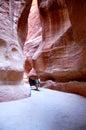 Petra, Lost rock city of Jordan Royalty Free Stock Photos