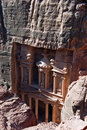 Petra treasury, Jordan Royalty Free Stock Images