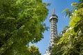 Petrin Tower in Prague Royalty Free Stock Photo