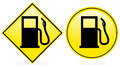 Petrol Fuel Pump Icon Royalty Free Stock Image