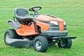 Petrol lawn mower Royalty Free Stock Photo