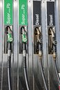 Petrol pumps Stock Photography