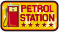 Petrol station Royalty Free Stock Photography