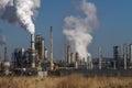 Petroleum Oil Production Plant Royalty Free Stock Photo