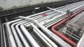 Petroleum pipeline Royalty Free Stock Image