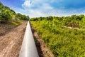 Petroleum Pipeline Royalty Free Stock Photo