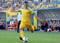 Petrolul ploiesti ceahlaul piatra neamt romanian league s haubert guilherme pictured in action during the football game between Stock Photo