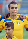Petrolul ploiesti ceahlaul piatra neamt romanian league s haubert guilherme pictured before the start of the football game between Stock Photography