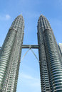 Petronas towers Stock Image