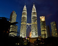 Petronas Towers Royalty Free Stock Photo