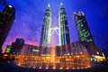 Petronas Twin Towers Stock Image