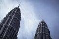 Petronas Twin Towers Royalty Free Stock Photo