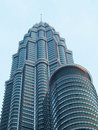 Petronas twin towers Kuala Lumpur Royalty Free Stock Photo