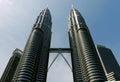 Petronas Twin Towers, Kuala Lumpur. MALAYSIA. Royalty Free Stock Photo