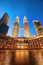 Petronas Twin Towers, Malaysia Stock Photos