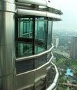 Petronas Twin Towers office Royalty Free Stock Photo